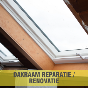 Dakraam reparatie / renovatie